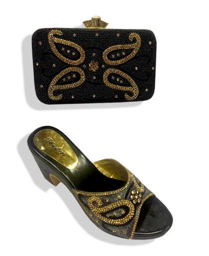 New stone work purse handbag for women