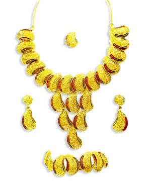 Roblox Golden Luxirous Necklace DesignsSet