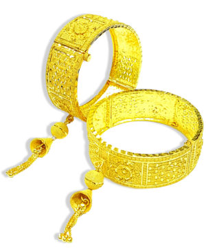 Latest Designer Golden Plated Braclate