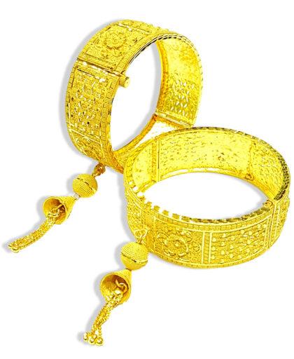 Latest Designer Golden Plated Braclate