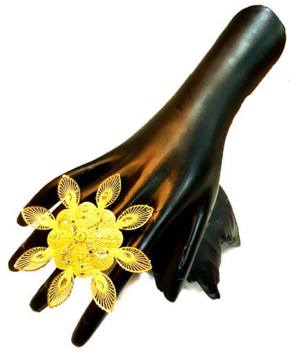Golden Plated Finger Ring