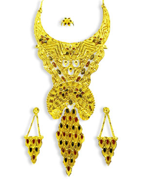 African Jewellery Bridal Design Necklace