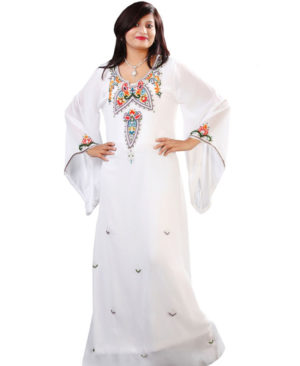 Muslim Attractive African Kaftan Dress