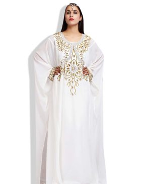 Muslim Abaya Caftan African Dress for Women Islami