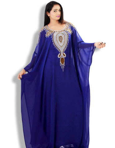 Kaftan drapes your figure beautifully