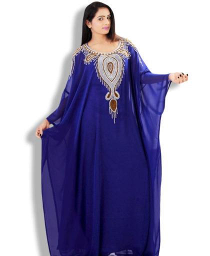 Kaftan drapes your figure beautifully