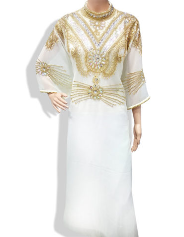 Premium Golden Work Kaftan Fancy Dress