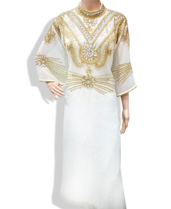 Premium Golden Work Kaftan Fancy Dress