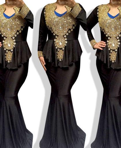 Elegant Design Kaftan Dress Long Sleeved Kaftan