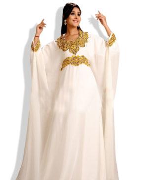 Premium Quality Magenta kaftan maxi dress