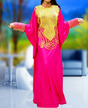 Ladies Caftan Kaftan Maxi Dress Fancy Kaftan