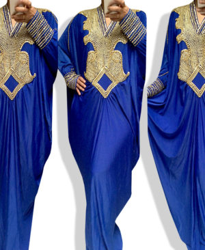 Moroccan Kaftan Maxi Caftan Ladies Dress Spandex
