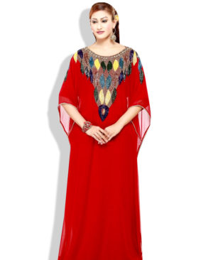 Moroccan Kaftan Long Maxi Dress Abaya Caftan
