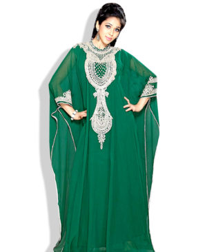 Style Women Georgette Long Kaftan Dress
