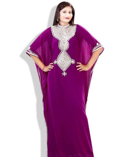 Style Moroccan Kaftan Women Long Dress Abaya
