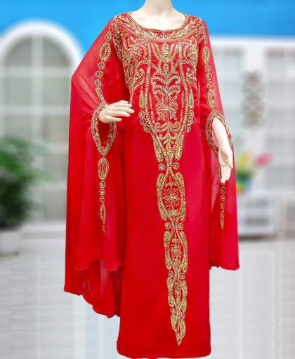 Georgette Hand Style Kaftan Designer
