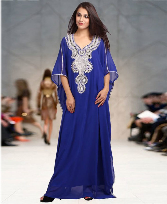 Kaftan stylish Fashion Womens Islamic Dress