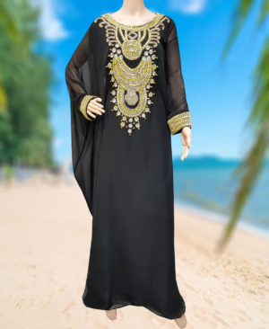 Wedding kaftan for women floor Length African Kaftan