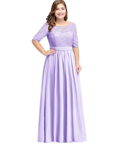 Women Long Special Occasion Dresses Plus Size Gown