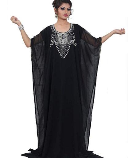 Women's Farasha Jalabiya Abaya Long Dubai Kaftan