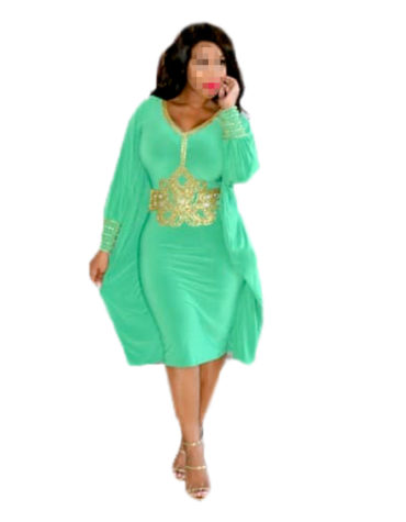 Magnifier Premium Stylish Party Wear Lycra Kaftan