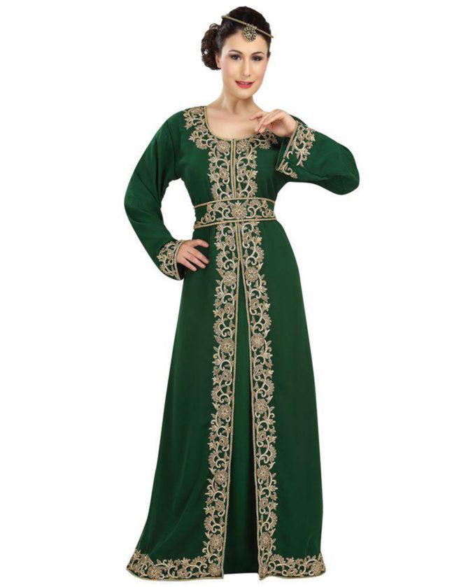 Party Wear Farasha Dubai Caftan Maxi Free Size caftan