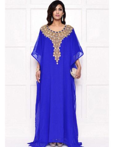Party Wear Farasha Dubai Caftan Maxi Moroccan Free Size kaftan