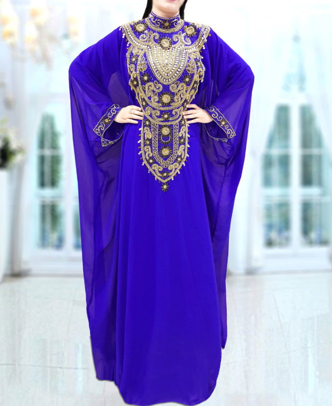 Women's Dubai Evening Gown Abaya African Dresses for Women Party