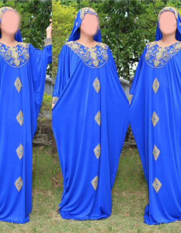Wedding Plus Size Ankara African Gothic Dresses Musilm Caftans for Women Attire