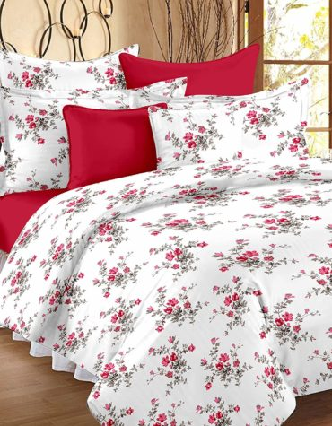African Style Comfort Cotton King Size Bed-sheet with 2 Pillow Covers