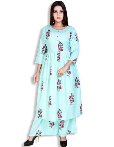 African Boutique Women's Cotton Readymade Salwar Suit