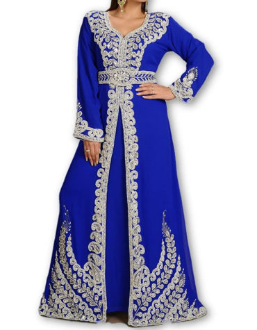 Exclusive Party Wear Kaftan Moroccan Wedding Gown Dubai Kaftan