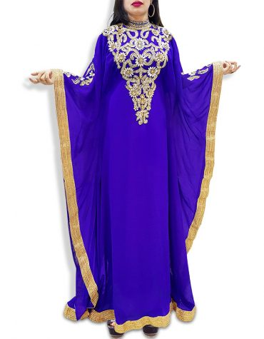 Caftan Dresses for Women Long Sleeve Formal Maxi Gown Evening African Dress