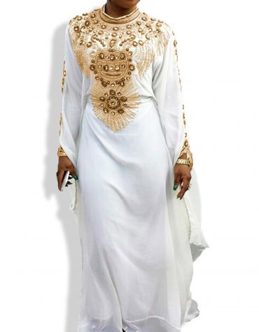 Exclusive Chiffon Abaya for a Beautiful Lady