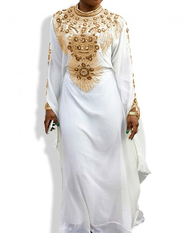 Exclusive Chiffon Abaya for a Beautiful Lady
