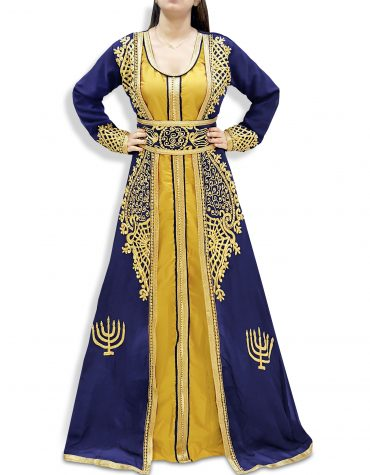Abaya Dubai Kaftan for Women Muslim Wedding Dress Plus Size Gown African Clothing
